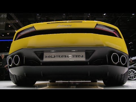 Watch the 2015 Lamborghini Huracan Debut at the Geneva Auto