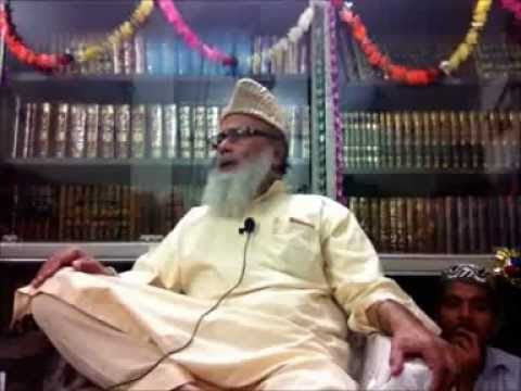 Allama Ghulam  Rasool  Saeedi   Bayyan at his Library on Eid e Milad un Nabi, & Gayarweem Sharif.