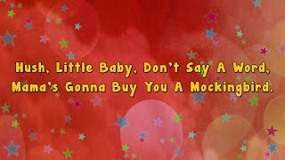 getlinkyoutube.com-Karaoke - Hush little baby | Karaoke Rhymes
