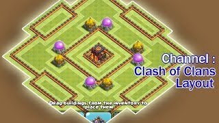 AMAZING BASE Town Hall 10 TH10 War Base and Trophy Base 275 Walls