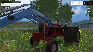 getlinkyoutube.com-Farming simulator 2015 Farmall 1206 Dually no errors