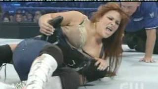 getlinkyoutube.com-Maria vs Natalya (Maryse intereferes)