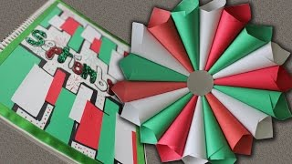 getlinkyoutube.com-Corona de papel Decoración para FIESTAS PATRIAS (y portada de SEPT.)