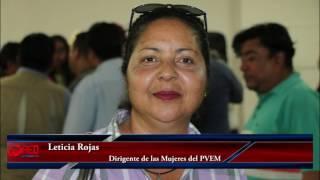 Lamentable que la Dirigencia no haya sostenido al PVEM en Oaxaca, Leticia Rojas