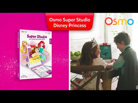 Osmo Super Studio Disney Princess Starter Kit for iPad - Ages 5-11 (Osmo Base Included)