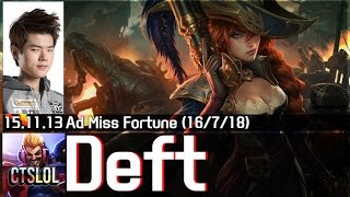 getlinkyoutube.com-558. Deft - 미스 포츈 하이라이트 / Miss Fortune Highlights