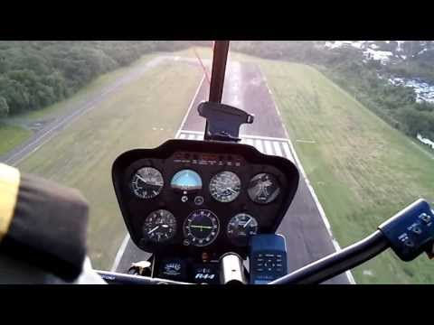 Decolagem apertada de R44 em HD