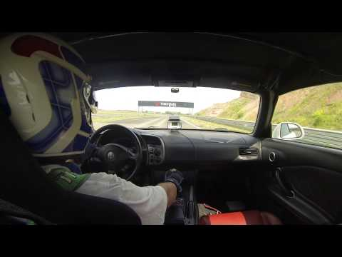 S2000 time attack! KAZANring. (Onboard)