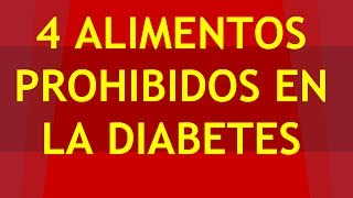 getlinkyoutube.com-►► 4 Alimentos Prohibidos Para Diabeticos QUE DEBES EVITAR ◄◄