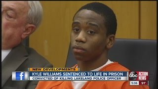 getlinkyoutube.com-Kyle Williams sentenced to life in prison for officer's murder