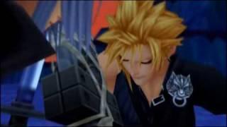 getlinkyoutube.com-Cloud and Tifa Kingdom Hearts II ALL Scenes