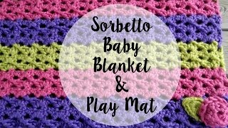 getlinkyoutube.com-Episode 77: How to Crochet the Sorbetto Baby Blanket & Play Mat