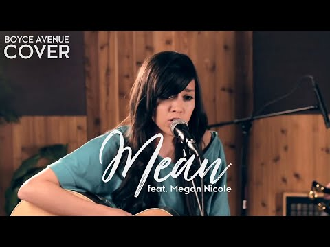 Taylor Swift - Mean (Boyce Avenue &amp; Megan Nicole acoustic cover) MTV Video Music Awards VMA
