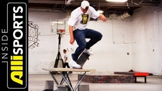 getlinkyoutube.com-Inside Brandon Biebel's Private Skate Facility   Inside Alli Sports