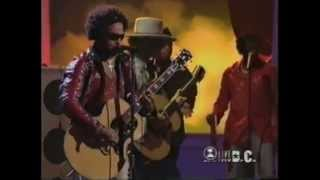 getlinkyoutube.com-Lenny Kravitz   Eric Clapton perform All Along The Watchtower October 23 1999 1)