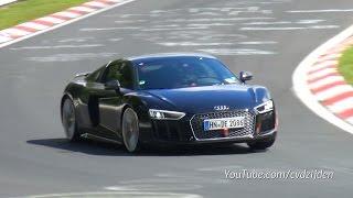 getlinkyoutube.com-2015 Audi R8 V10 PLUS - Full Throttle Exhaust Sounds!
