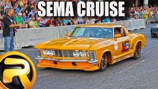getlinkyoutube.com-Leaving SEMA Show - 60 minutes of Custom Cars
