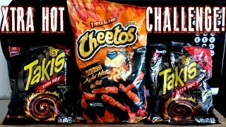 getlinkyoutube.com-Flamin' Hot Cheetos and Xtra Hot Takis Challenge *SOLO* | FreakEating vs the World 85
