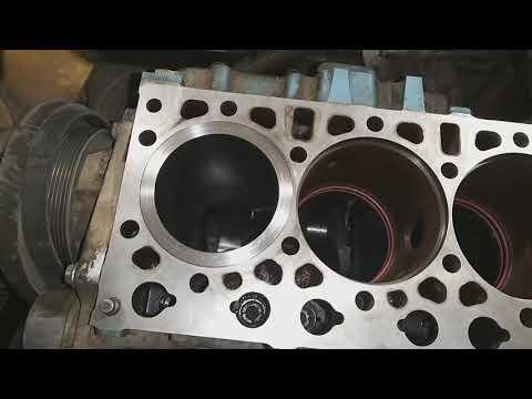 (Часть2) замена поршневой двигатель ЯМЗ 536.