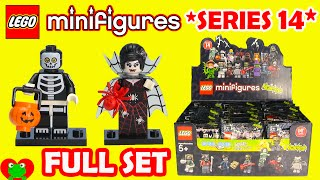 getlinkyoutube.com-LEGO Minifigures Series 14 Monsters #71010 Full Set