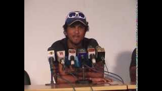 New Zealand A v Sri Lanka A: Pre Match Press Conference -- Dinesh Chandimal