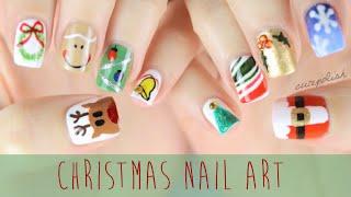 getlinkyoutube.com-Nail Art for Christmas: The Ultimate Guide #2!