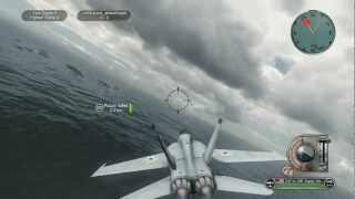 getlinkyoutube.com-Battlestations Pacific F/A-18 GPU-5/A close air support