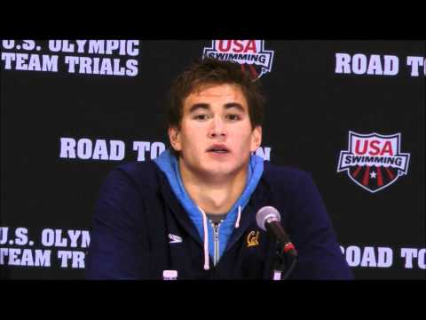 2012 U.S. Olympic Team Trials: Nathan Adrian Press Conference - 100 Free Champion