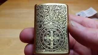 getlinkyoutube.com-Fake Zippo Lighter. (Constantine)