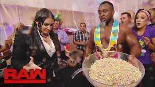 getlinkyoutube.com-The New Day's record-breaking celebration takes a chaotic turn: Raw, Dec. 12, 2016