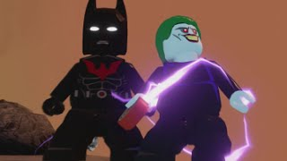 getlinkyoutube.com-LEGO Batman 3 - Batman of the Future DLC Pack (All Characters & Free Roam Gameplay)