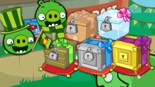 getlinkyoutube.com-Bad Piggies - UNLOCK CRATES (Hidden Loot Crates)