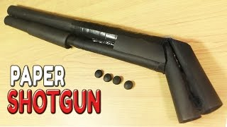 getlinkyoutube.com-How To Make A Paper Shotgun That Shoots Bullets
