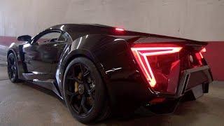 getlinkyoutube.com-W-MOTORS LYKAN HYPERSPORT SOUND!! ($ 3,5Million Car!)