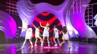 getlinkyoutube.com-Girl's Day - Twinkle Twinkle, 걸스데이 - 반짝반짝, Music Core 20110319