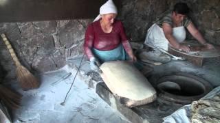 getlinkyoutube.com-Baking of Lavash.