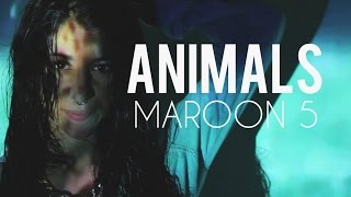 Maroon 5 - Animals - Bely Basarte Feat. Af Mvsic Cover