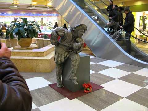 Живая скульптура в Калуга