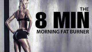 getlinkyoutube.com-8 MINUTE MORNING Workout (Fast Morning FAT BURNER!!)