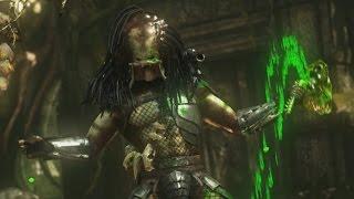 getlinkyoutube.com-Mortal Kombat X - Predator X-Ray, All Fatalities/Brutalities and Tower Ending (1080p 60FPS)