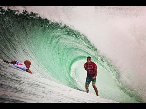 Heat Highlights - Slater vs. Parko Finals Battle Quiksilver Pro Gold Coast 2013