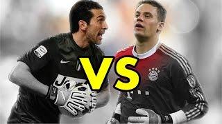 getlinkyoutube.com-Gianluigi Buffon VS Manuel Neuer - Who is the best? | Amazing Saves Compilation HD
