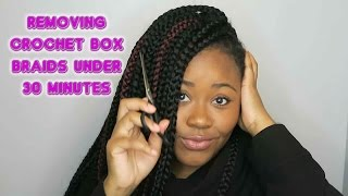 How to: Remove Crochet Braids Under 30 Minutes