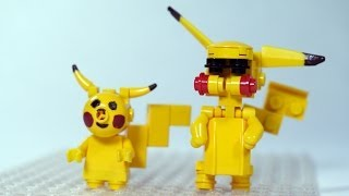 getlinkyoutube.com-How To Build LEGO Pikachu (LEGO Pokemon)