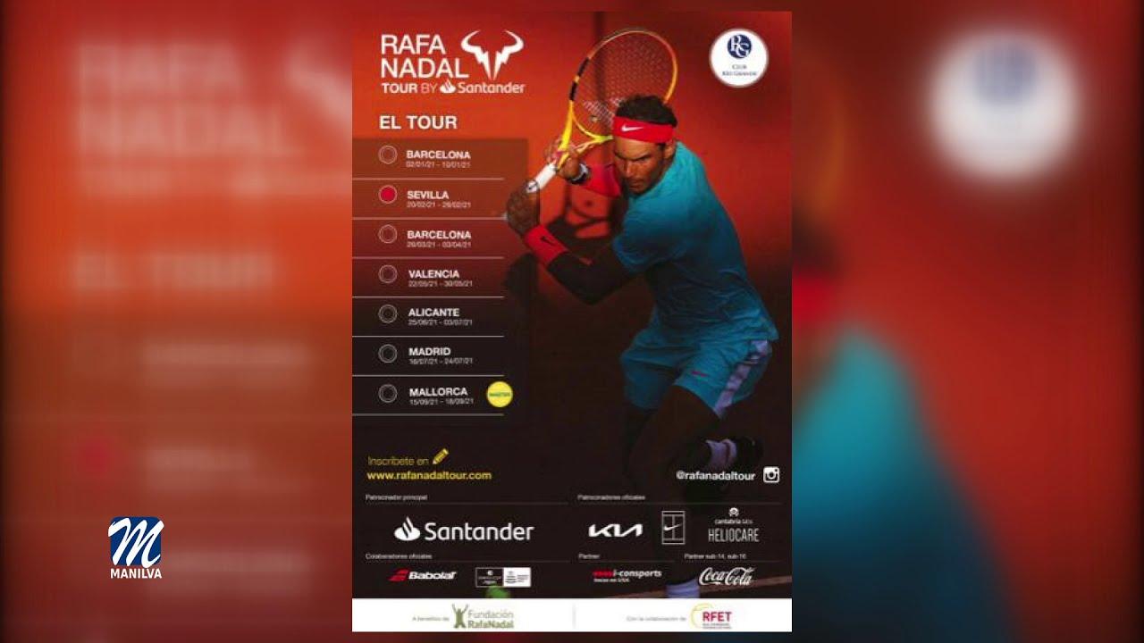 Cayetano Blanco participa en el Rafa Nadal Tour