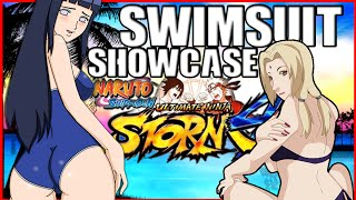 getlinkyoutube.com-All Swimsuits Showcase! NARUTO SHIPPUDEN: Ultimate Ninja Storm 4 (DLC) [COG INCORPORATED]