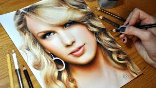 getlinkyoutube.com-Drawing Taylor Swift