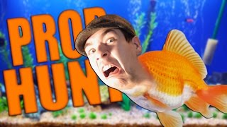 getlinkyoutube.com-FISH OUT OF WATER | Gmod: Prop Hunt (Funny Moments)