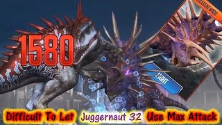 getlinkyoutube.com-Jurassic World - Juggernaut 32 Is Made To Use MAX Attack 20161209