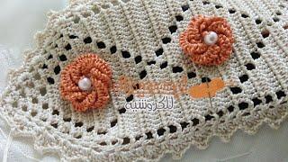 getlinkyoutube.com-كيفية عمل الكوزة بالكروشي (نصف الطوق) / Randa / Crochet / مع أم سعد عبد الله